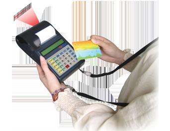 加油站专用移动收款机-带RFID读卡器(CRBX系列)